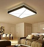 MCLJR Moderne LED Schlafzimmer Deckenleuchte Dimmbare mit Fernbedienung, Halle Deckenleuchte Beleuchtung Kreative Platz Wohnzimmer Lampe, Atmosphere Study Deckenleuchte