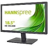 HANNspree HE195ANB 18,5-Zoll-Breitbild-LED-Monitor (1366 x 768, WXGA, VGA, 5 ms, 100 x 100 VESA) Schwarz