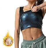Herrengesundheit Fitness Wärme Einfangen Schweißsteigerung Weste Kompressions-Taille Slimming Top Für Gymness-Fitness (Color : Women, Size : 3XL)