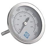 Tailixing Backofenthermometer 100-800 ℉ Ofen Zeigerthermometer Kochen Thermometer Wasserdichtes Lebensmittel Temperaturanzeige Tragbare Küche T