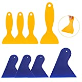 8 Stücke Kunststoff Spachtel-3D Druck Spachtel Kunststoff Messer, Auto Spachtel Luftblasenentferner Aufkleber Installation Werkzeug Farbe Schaber Malerspachtel Spachtel Set für Spackeln, Patchen