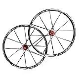 LSRRYD Radsport Laufradsatz Fahrradfelge 26 27,5 Zoll MTB-Radsatz Doppelwandige Leichtmetallfelge Carbon Nabe Erste 2 Hinten 5 Palin Schnelle Veröffentlichung Scheibenbremse 7 8 9 10 11 G