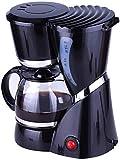 OGUAN Kaffeemaschine, Filterkaffeemaschine, Filterkaffeemaschine One Touch, Kaffeemaschine warm halten, Anti-Drip-Design, abnehmbare Filter und Trichter 600ml for Kaffee-Liebhaber Kaffeefilter,