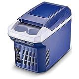 GGZZLL Tragbarer, kompakter, leiser Mini-Kühlschrank, 8 l, Auto-Gefrierschrank, Auto, Zuhause, Mehrzweck-Kühlschrank, schnelle Kühlung, Kühlung für Schlafzimmer