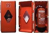 Feuerlöscher Box Schutzschrank für 6Kg rot-schwarz