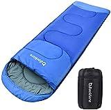 BACKTURE Schlafsack, Deckenschlafsack 1.0 kg Leichtgewicht Warm Outdoor 100% Baumwollhohlfaser für Camping,Wandern,Aktivitäten im Freien im 4-Jahreszeiten leicht in Tragetasche,220 x 80cm