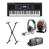 Yamaha PSR-E373 Keyboard Set III mit Ständer, Kopfhörer und Tasche