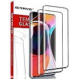 QITAYO, 2 Stück, Panzerglasfolie kompatibel mit Xiaomi Mi 10 und Xiaomi Mi 10 Pro, 9H Härte, 3D Vollständige Abdeckung, Panzerglas schutzfolie für Xiaomi Mi 10 / Xiaomi Mi 10