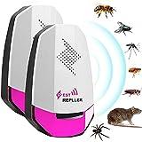 VASIN Mäuseabwehr Ultraschall Schädlingsbekämpfer Pest Repeller Konvertierung Dual Frequenz und Big Power 10W Effizienz Garantiert für die Kontrolle der Ratten Kakerlaken Insekten Ameisen Spinne