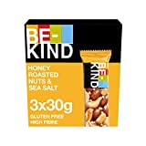 BE KIND | Honey Roasted Nuts & SeaSalt | 90g | 3er Pack