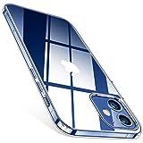 TORRAS Crystal Clear für iPhone 12 Mini Hülle (Vergilbungsfrei, Transparent) Dünn Militärschutz Schutzhülle, Flexibles Silikon Schutz, Kratzfest Handyhülle iPhone 12 Mini Case (Durchsichtig)
