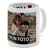 PhotoFancy® - Liebestasse mit Foto selbst gestalten - Fototasse personalisieren und bedrucken