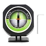 Betrachtungswinkel-einstellbarer Messgerät-Ausgleicher, leuchtender LED-Auto-Neigungsmesser, einstellbarer Neigungswinkel Ergonomisch entworfenes Mess-Universal-Winkelmaß für das Auto