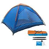 Oddity Campingzelt Wurfzelt 3-4 Personen Pop-Up-Zelt Familien Kuppelzelt Tragbares Sekundenzelt Einfache Einrichtung Wasserdicht Winddicht Anti-UV-Sonnenschutzzelt Für Camping Wandern Portable