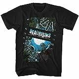 Dead Rising Zombie Film Men's Adult T-Shirt Black XL