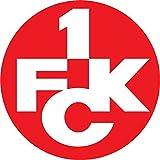 Kaiserslautern FC Germany Soccer Football Hochwertigen Auto-Autoaufkleber 12 x 12 cm