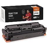LEMERO SUPERX 410X Toner Kompatibel für HP CF410X CF410A Toner 410X 410A Toner für HP Color Laserjet Pro MFP M477FDW M477FDN M477FNW M452DN M452DW M452NW M377DW Drucker,Schwarz