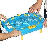 ZXQZ Tischfussball 7 in 1 Multi-Spieltisch, Billardtisch, Fußball, Hockeytisch, Basketball, Bowling, Arcade, Tischspiele