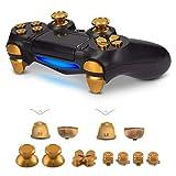 kwmobile Ersatztasten kompatibel mit Playstation 4 Pro / PS4 Slim Controller (2. Gen) - mit Schultertasten - Aluminium Ersatz T