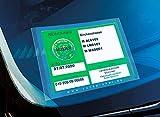 Cardpicker 2er Set Glasmagnet Parkausweis Halter Hülle -Handwerker- selbsthaftend ADAC geprüft