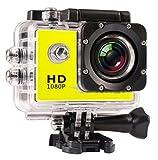 Action-Kamera, Tauchen, 30 m, wasserdicht, 1080p, Full HD, Go, Unterwasserhelm, Sportkamera, DV, 12 MP, Foto-Pixel-Kamera