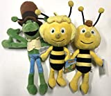 Komplettset 3 Plüsch 23cm Die Biene Maja - Maja Willi Flip ORIGINAL Simba