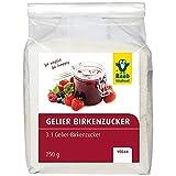 Raab Vitalfood Birken-Gelierzucker 3:1, Xylit, vegan, Zucker-Alternative, Süßungsmittel, zahnfreundlich, für Fruchtaufstriche, Marmelade, 250 g