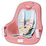 Baby Annabell 703335 Aktiv-Fahrradsitz für 43cm Puppe - florales Design - Leicht für kleine Hände, kreatives Spiel fördert Empathie & soziale Fähigkeiten, für Kleinkinder ab 3 Jahren