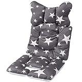 Baby Sitzauflage Kinderwagen Sommer,Sitzauflage Kinderwagen Atmungsaktiv,Baby Sitzauflage Baumwolle,Baby Sitzauflage Buggy,Universal Kinderwagen Sitzauflage,Kinderwagen Einlage (A)