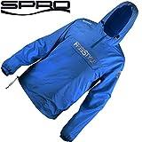 Spro Storm Shield Freestyle Blue - Angeljacke, Anglerjacke für Spinnangler, Jacke für Angler, Windjacke, Regenjacke, Outdoorjacke, Größe:M