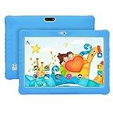 tablet Kinder PC Android-Lern PC 10-Zoll-Touchscreen-Unterstützung Bluetooth-Support-Telefon mit Silikonhülle