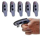 Fingermagnet-Handschuh-Werkzeug - Fingerhülse mit magnetischer Fingerspitzen-Magnethülle - Hält jedes kleine Metallobjekt an Ihrer Fingerspitze, um sie an den Fingerspitzen zu befestigen 5Pcs