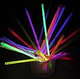 30 hochwertige Knicklichter – 20,3 cm mit Verbindungsstücken für Neonarmbänder und Halsketten