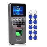 liuchenmaoyi Unterstützung Fingerabdruck-Zeit-Anwesenheits-Maschine TCP/IP-Mitarbeiter Check-in-Zeit-Taktgeber-Recorder Biometric Access Controller USB Zeit Uhren für kleine Unternehmen