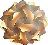 Lampenmanufaktur Oberkirch LED-Papierkugellampe Design Kugellampe Papier I mittel Ø 34 cm I Büttenpapier Papier Papierleuchte Kugelleuchte Stehlampe Lichtobjekt