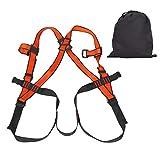 DAUERHAFT Tragbarer, langlebiger, starker Klettergurt Leichter, robuster Fünf-Punkte-Klettergurt für Bergsteigen, Klettern, Brandbekämpfung und Zusammenbruch