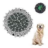 Sunshine smile Hund schnüffelteppich intelligenzspielzeug,Schnüffelrasen Hundespielzeug Fördert Natürliche Nahrungssuche,Hund riechen trainieren,schnüffeldecke (Sonnenblume-1)