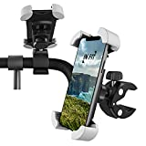 IN FIT Support Telefon/Smartphone GPS Fahrrad, Motorrad, Roller, Lenkerhalterung 360 ° Rotation Anti-Vibration Jedes Telefon iPhone 12 11Pro/XSMax/X/XR/8/7/6S, Samsung Galaxy S10 S9