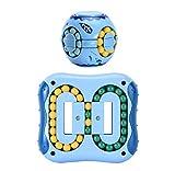 2 STK Spielwaren Magic Beans, Intelligenz Fingerspitzen Rubik Würfel, Finger Oben Rubik Würfel Spielzeug, Eltern-Kind-Spiele, geeignet für Kinder, Erwachsene, ältere Menschen