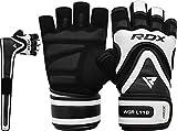 RDX Fitness Handschuhe Trainingshandschuhe Lang Handgelenkstütze Sporthandschuhe Gewichtheben Bodybuilding Workout Krafttraining Gym Gloves (MEHRWEG)