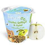 bosch Finest Snack Concept   Fruitees frisches Geflügel & Apfel   Ohne Getreide   4er Pack mit 4 x 200 g