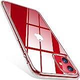 TORRAS Crystal Clear für iPhone 11 Hülle (Echte Vergilbungsfreiheit) Hochwertiges Weich Silikon Handyülle iPhone 11 (Ultra Dünn & Leicht) Transparent Kratzfest Schutzhülle iPhone 11 Case Durchsichtig