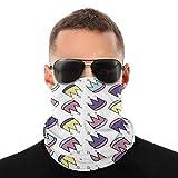 Gbyuhjbujhhjnuj Geburtstag Hut Multifunktionstuch Schlauchschal Halswärmer Gesichtsmaske Strand Kopfbedeckung Bandana für Männer, Frauen & Kinder