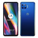 Motorola Moto G 5G Plus 64GB Handy, blau, Surfing Blue, Android 10