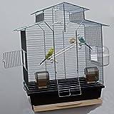 Heimtiercenter Vogelkäfig,Wellensittichkäfig,Exotenkäfig,60 cm Vogelkäfig Vogelbauer Wellensittich Kanarien Voliere Vogelhaus Käfig IZA 2 II b