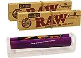 yaoviz® Set RAW Zen konische Drehmaschine 110mm - 2X Connoisseur KS Papers inkl. Tips