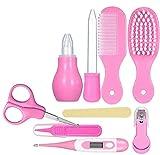 Joyeee Kosmetiktasche für Babys, mit Werkzeug, für die Pflege des Babys, zur Geburt, Set für Babypflege, Neugeborene, Baby, Haarnägel, Gesundheitspflege, für die Fellpfleg