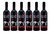 Crama Ceptura   Sangele Ursului – Rotwein süß aus Rumänien   Weinpaket 6 x 0.75 L + 1 Kugelschreiber'Amigo Spirits' gratis