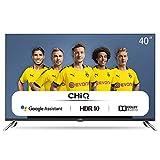 CHiQ L40H7A, 40 Zoll (100 cm), Android 9.0, Smart TV, FHD, WiFi, Bluetooth, Google Assistant, Netflix, Prime Video, HDMI, USB