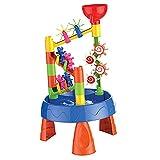 Tastak 32-teiliges Sand- und Wassertischspielzeug, Baby-Strandspielzeug Sandset Sandkastenspielzeug, Eimer und Spaten-Strand-Set Kinder, Spielsand für Strand, Meer, Schwimmbad, Badewanne